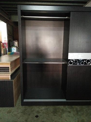 客製5.7尺雙門滑門衣櫃-高雄客製化產品