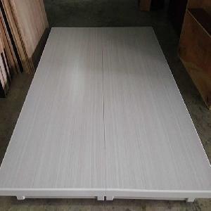 [民宿飯店搶購]高級床底-雙人加大6尺-採用厚度最高六分木心板(圖為水洗白)-高雄六分木心板床底